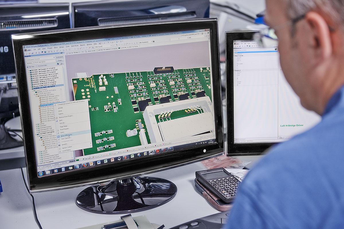 Entwicklung elektronischer Baugruppen