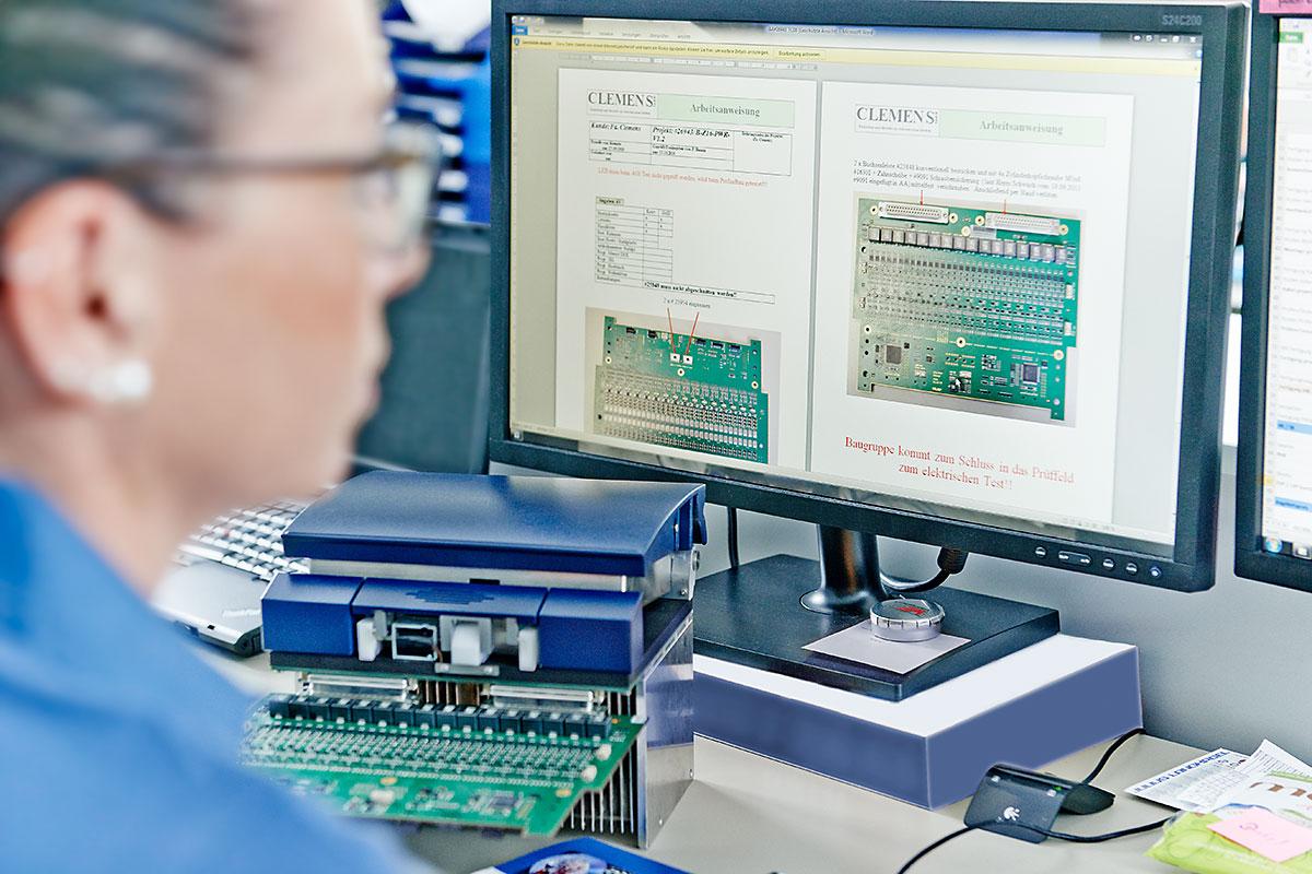 Materialbeschaffung bei CLEMENS GmbH