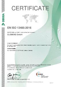 Certificate EN ISO 13485